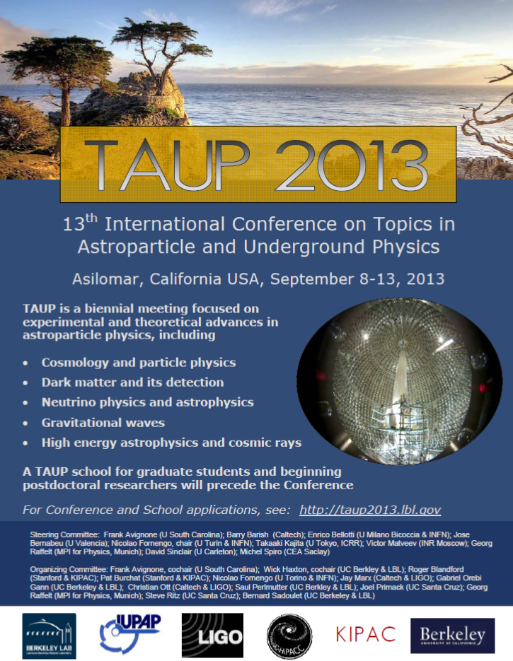 TAUP2013